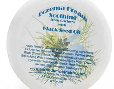 If it's Good Enough for King Tut's it's Good Enough for You: Black Seed Oil to Treat Eczema